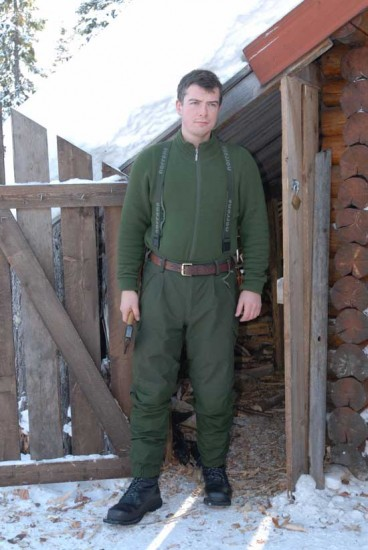 Second Thermal Layer and Shell Trousers
