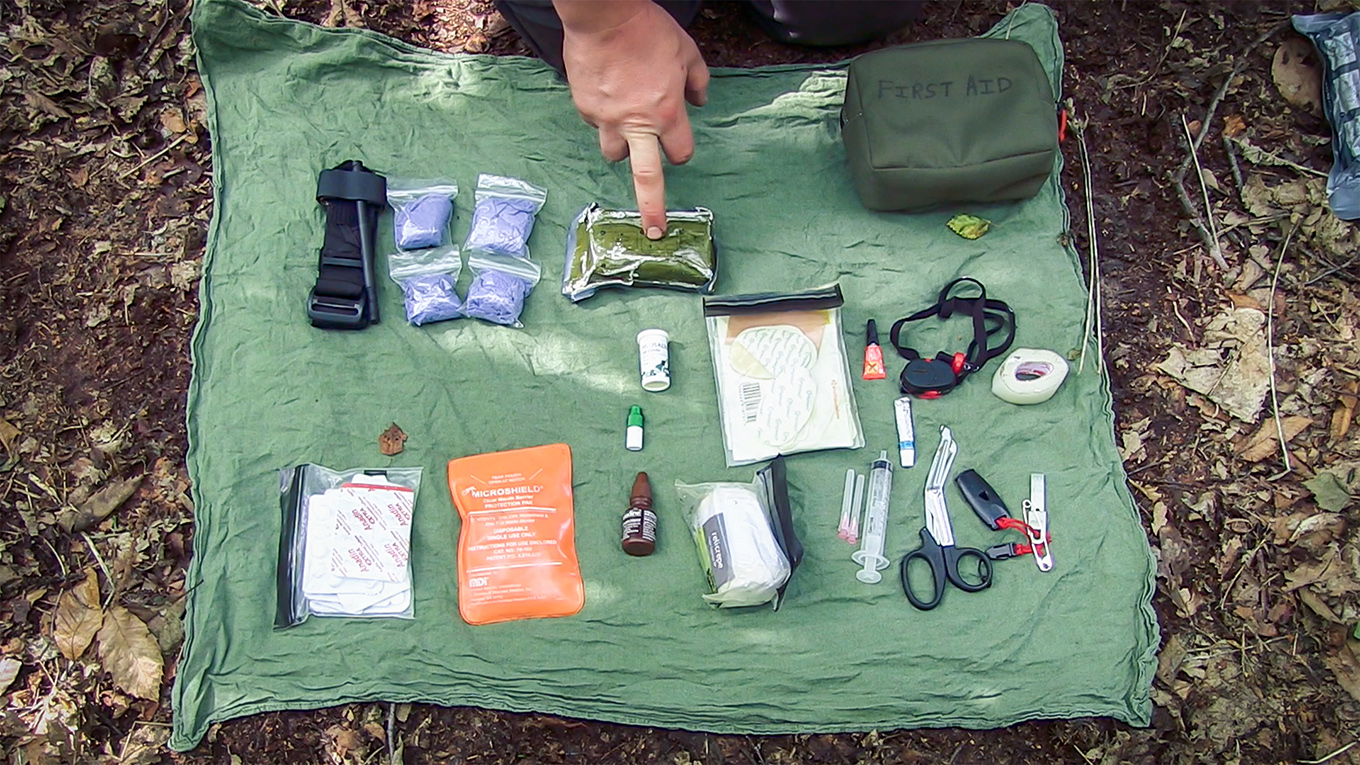 Explanation of changes to Paul Kirtley's personal first aid kit