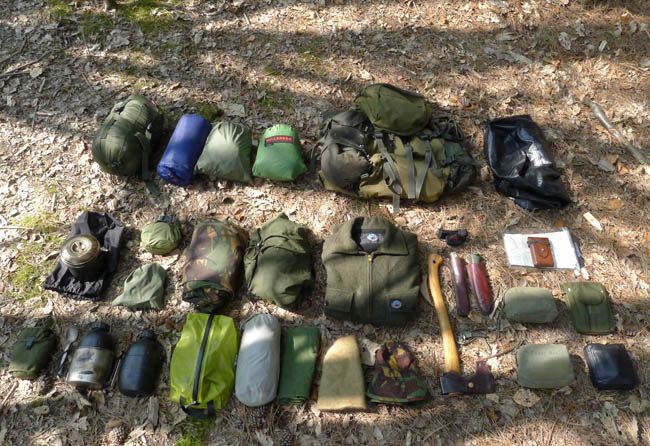 Post image for A Bushcraft Camping Outfit – Equipment for Living in the Woods