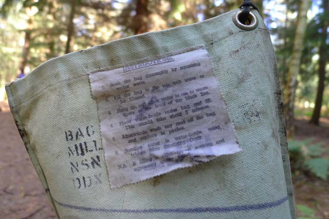 Instructions for using a Millbank bag