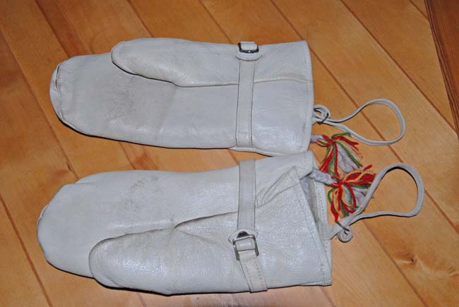 Swedish Army Leather Mittens