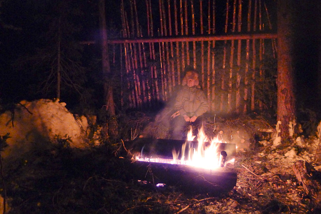 Post image for Surviving A Winter's Night in the Northern Forest: How To Build An Arctic Lean-To