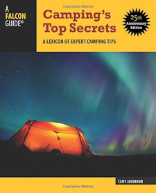 Cover art for Cliff Jacobson's Camping's Top Secrets book
