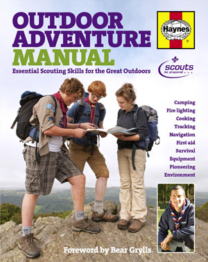 Outdoor Adventure Manual front cover