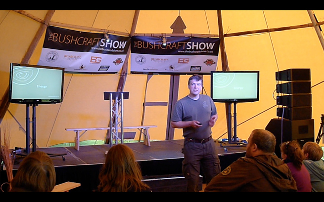 Post image for The Difference Between Foraging and Living Off The Land: Bushcraft Show 2013 Presentation