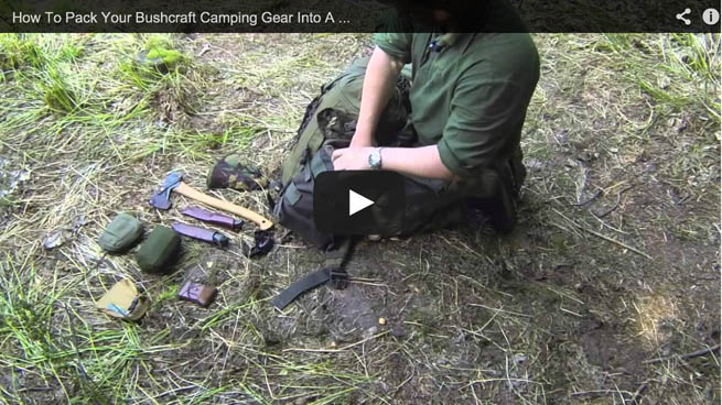 Post image for How To Pack A Bushcraft Camping Outfit