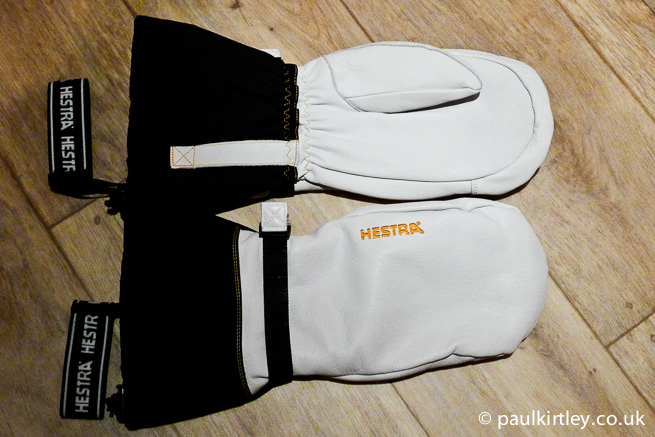 Hestra Bivak Leather Mittens.