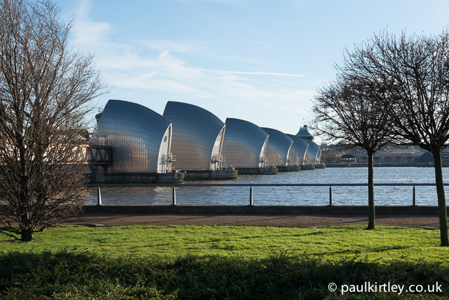 Thames Barrier from Barrier Park