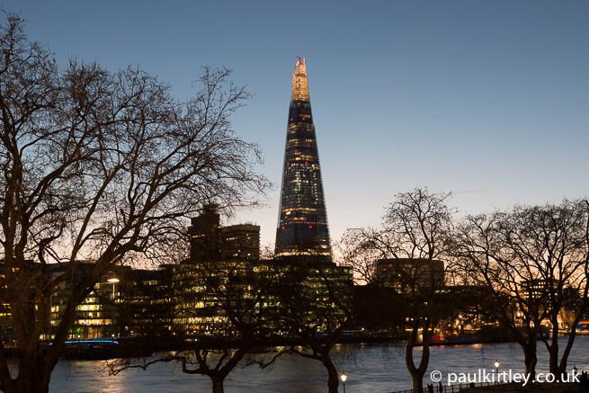 The Shard from Tower Of London