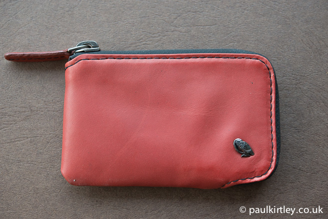 Bellroy Very Protective Wallet in russet.