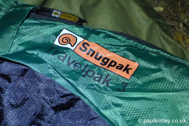 Snugpak Travelpak 3 sleeping bag review image