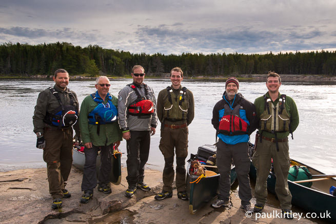 Bloodvein River trip 2014 participants