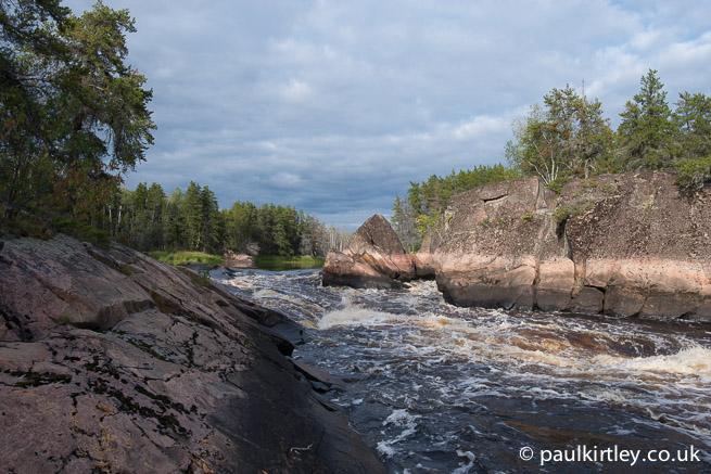 Namay Falls, Bloodvein River