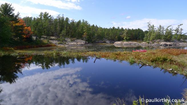 Beaver dam, Ontario, Canada