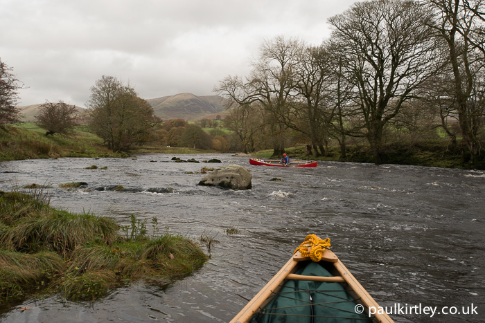 River Lune with Howgill Fells in the background