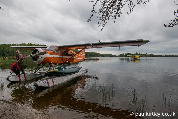 Two de Havilland Beaver planes
