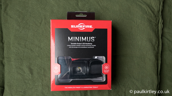 New Boxed Surefire Minimus