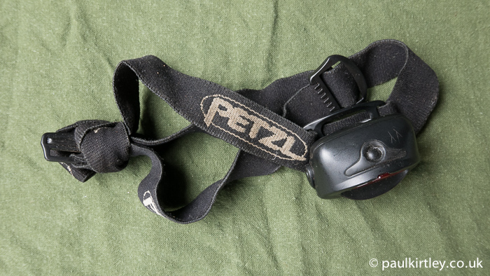 Worn out Petzl TakTikka