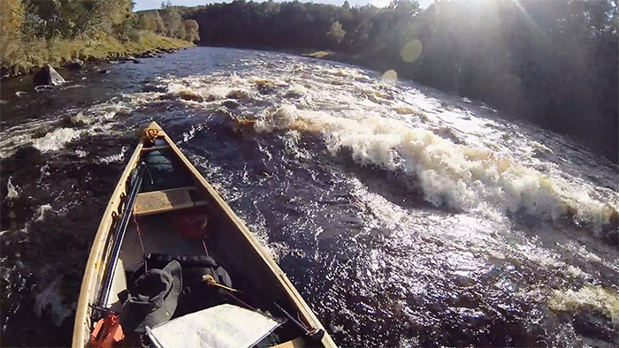 Rapids on the River Spey, Scotland