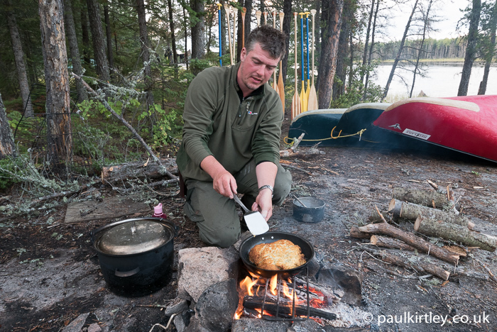 Pan breads are quick and easy to make, adding a great element to your camping menus. Photo: Amanda Quaine