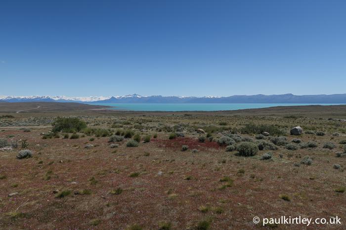 Lake Argentino vista from Glacarium