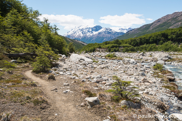 Trail along Rio Blanco