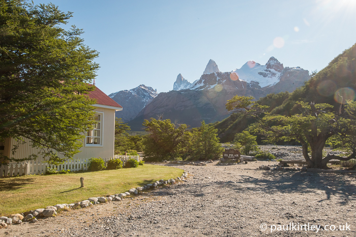 Hosteria El Pilar and Fitz Roy