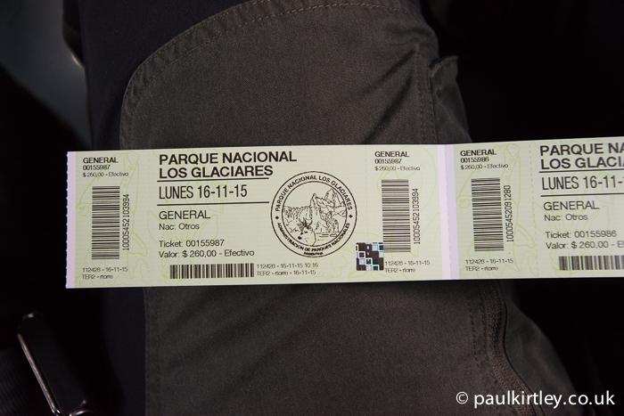 Parque Nacional Los Glaciares Entry Ticket