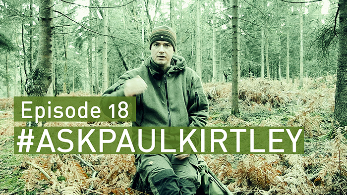 Post image for #AskPaulKirtley Episode 18: Power In The Wild, Water Purification, Chaga & What I Have In My Pockets