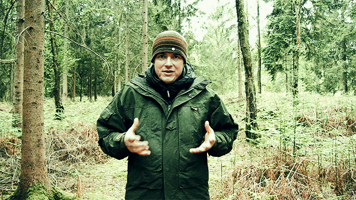Paul Kirtley in favourite outdoor clothing