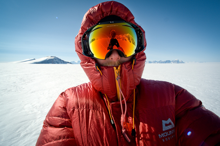 Al Humphries in Greenland - Grand Adventures book cover.