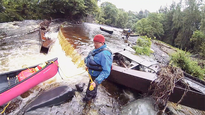 Post image for A Trail Of Destruction: Canoeing The River Greta After The Floods…