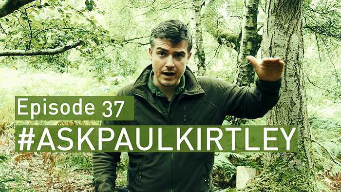 Post image for #AskPaulKirtley Episode 37 – Sustainable Birch Bark Harvesting, Tarp or Tent, Shelter Bedding Materials, Camp Positioning, Heavy Tents and Outdoor Career Advice