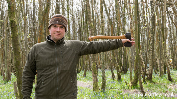 Paul Kirtley with Small Forest Axe