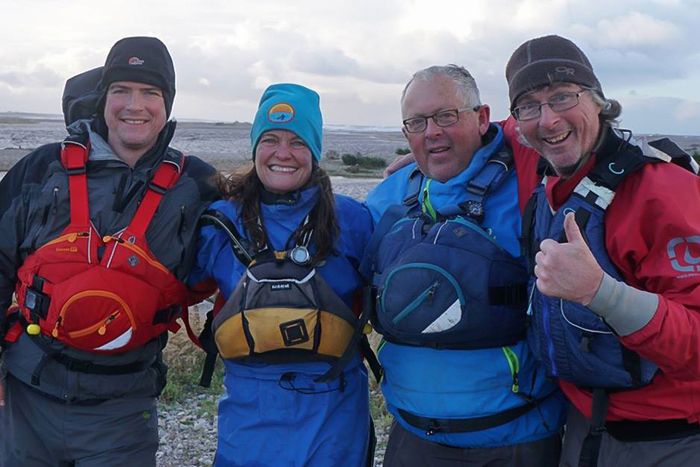 Paul Kirtley, Justine Curgenven, Ray Goodwin and Kevin Callan