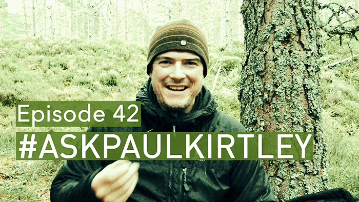 Post image for #AskPaulKirtley Episode 42 – Weird Encounters At Night, Drugs Tests, Predators and Wild Edibles