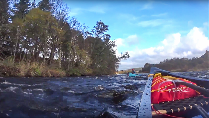 Post image for Canoeing The Spey With Kevin, Ray & Justine part 11 – The Final Day Starts With Poignant Reflection