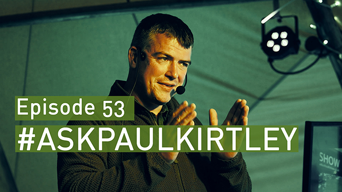 Post image for #AskPaulKirtley Episode 53 – LIVE at the 2017 Bushcraft Show
