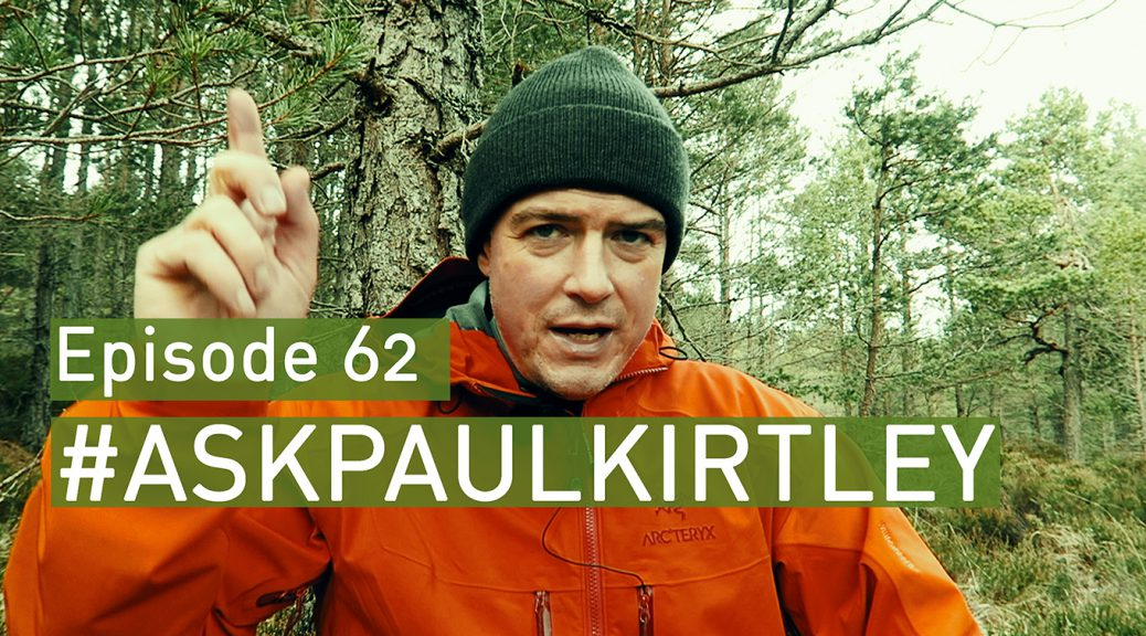 Paul Kirtley delivering #AskPaulKirtley Episode 62