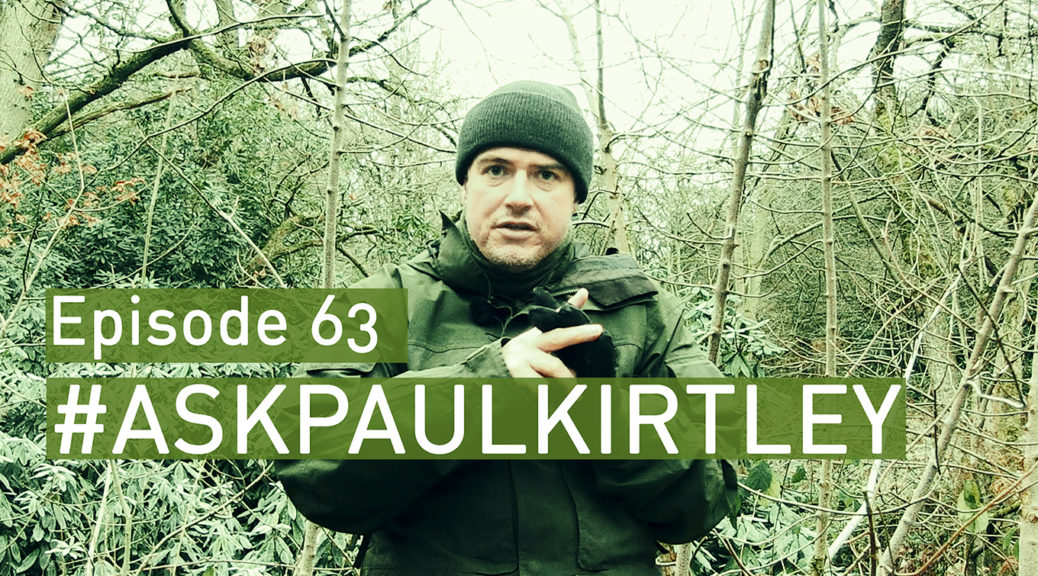 Paul Kirtley answering questions for show 63