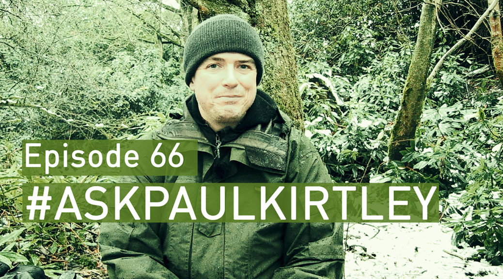 Ask Paul Kirtley episode 66 title card with Paul Kirtley