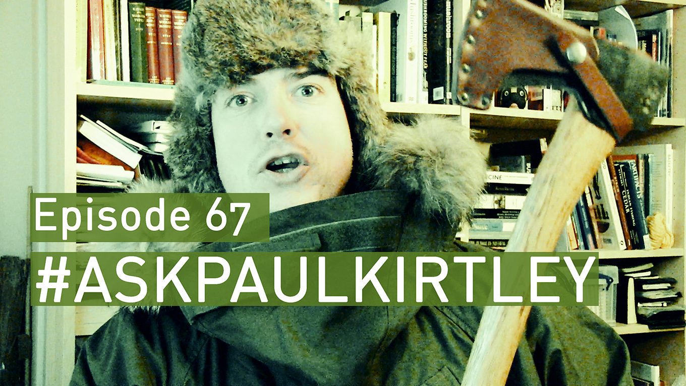 Ask Paul Kirtley episode 67 title card