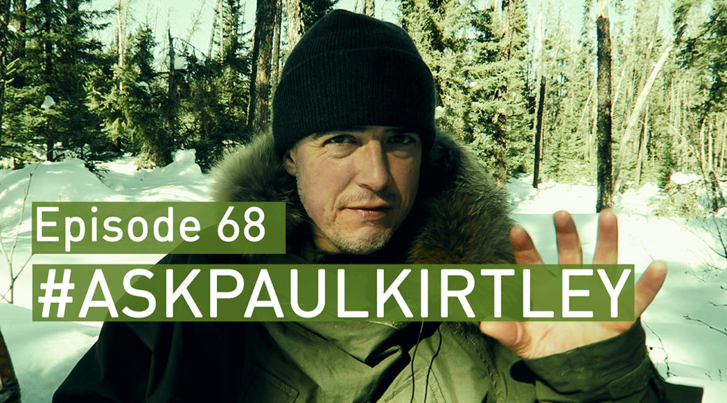 Ask Paul Kirtley Episode 68 front card