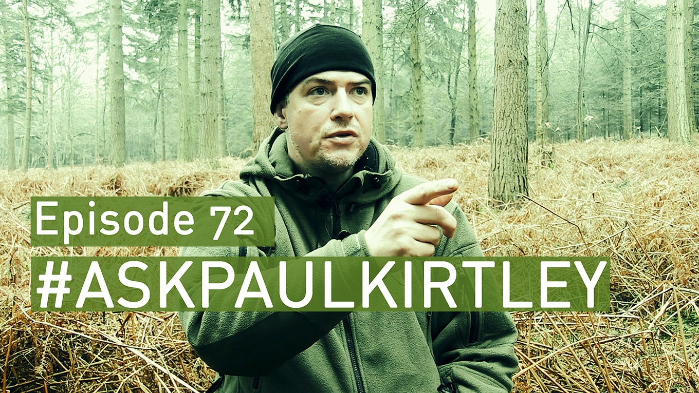 Paul Kirtley answering questions for episode 72 of Ask Paul Kirtley