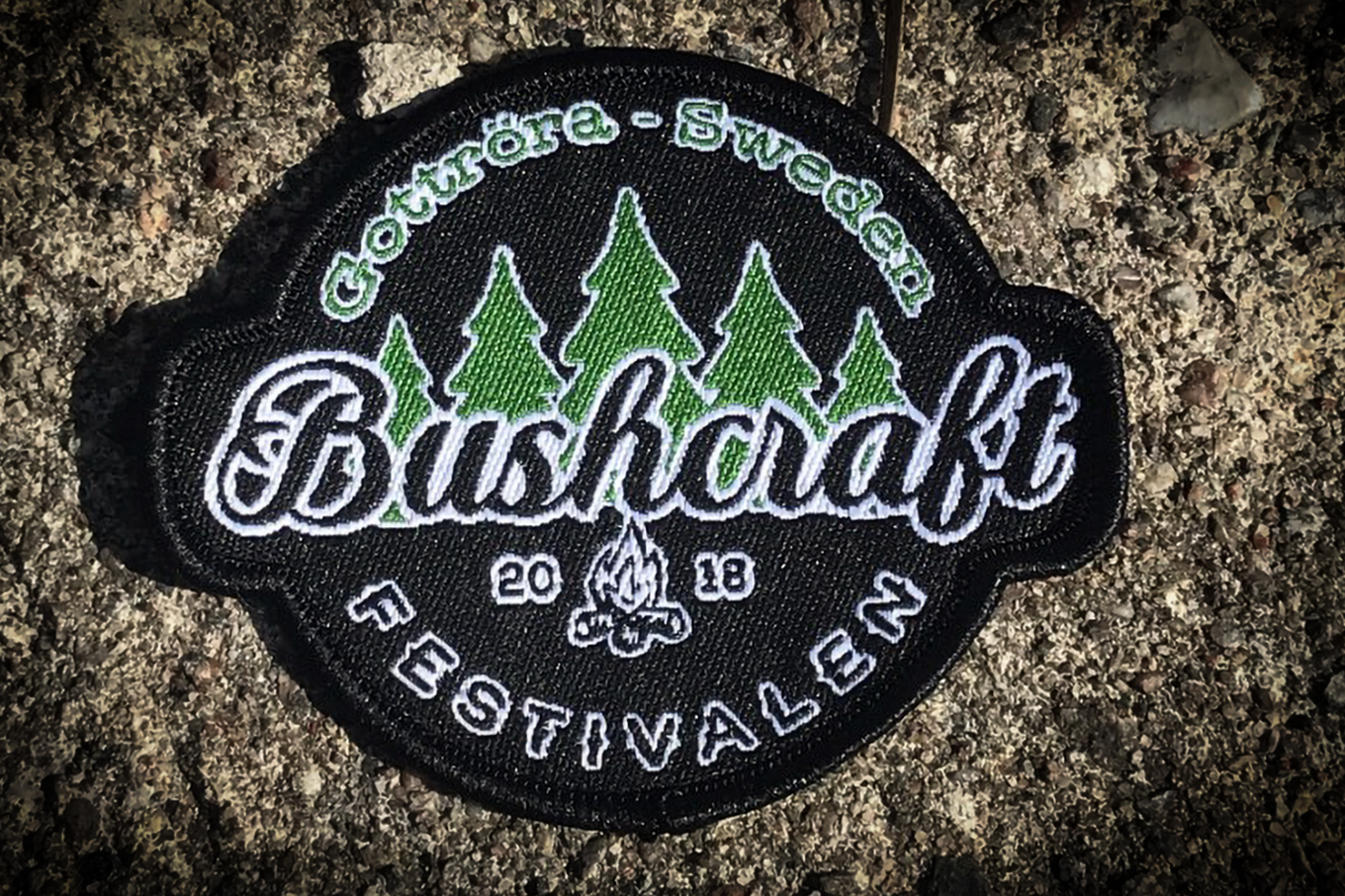 Bushcraftfestivalen 2018 badge