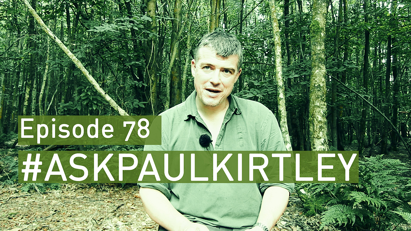 PAul Kirtley answering questions in episode 78