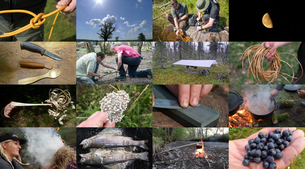 Bushcraft Skills - There are lots of ways of improving them