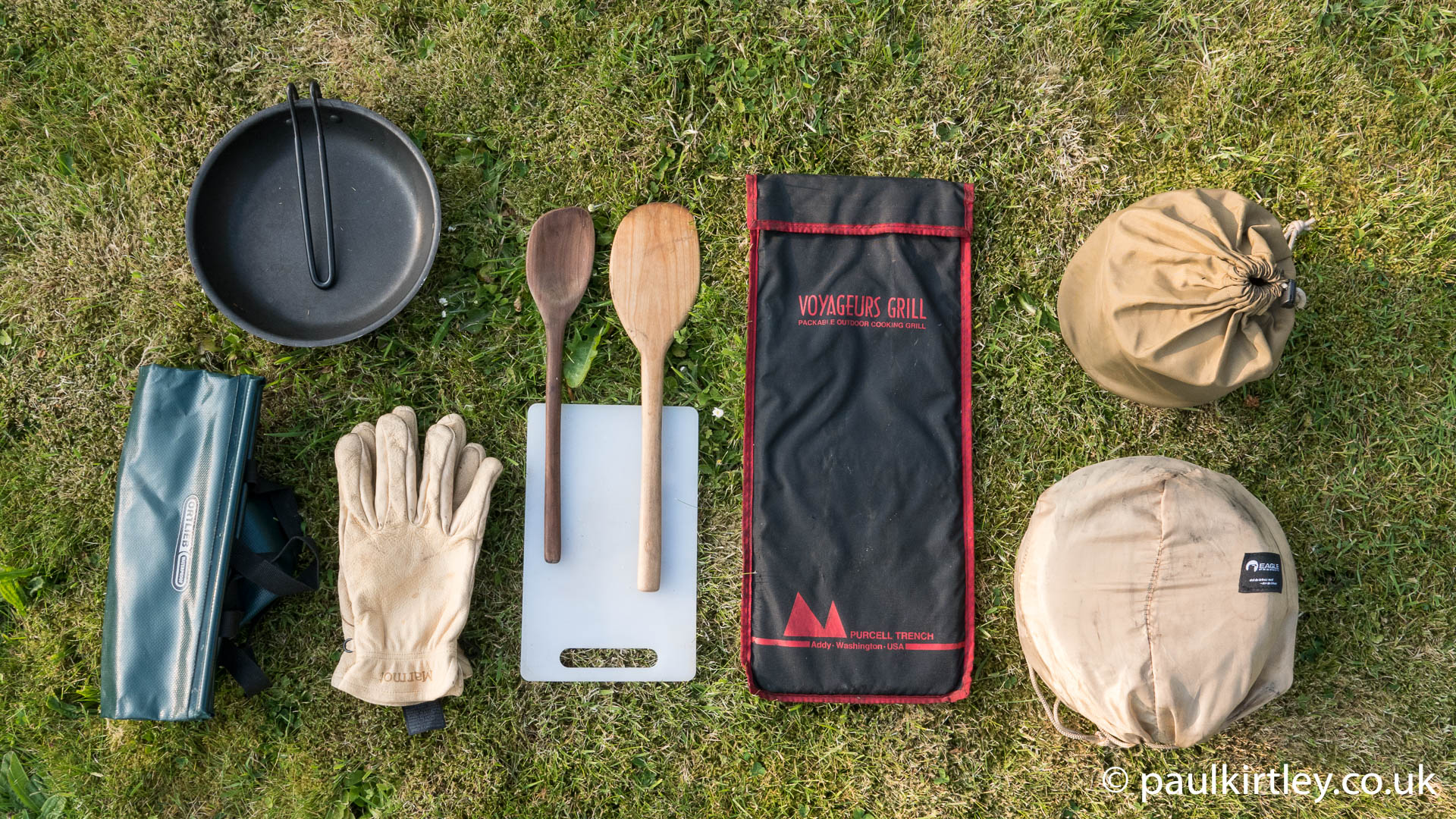 Paul Kirtley's Canoe Camping Cookset