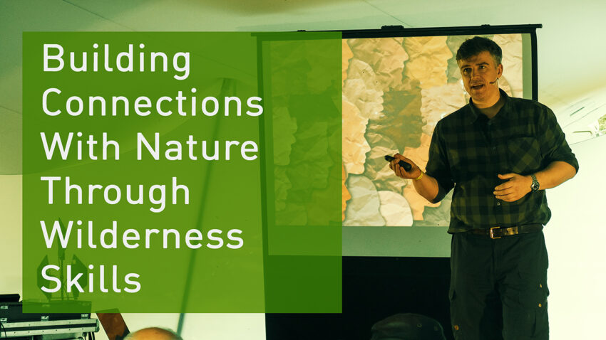 Paul Kirtley speaking at the 2021 Great Outdoors Festival